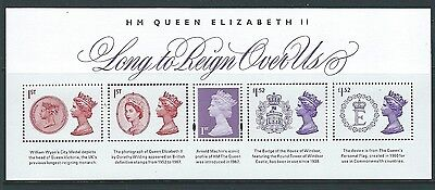 Great Britain 2015 Long To Reign Over Us Miniature Sheet No  Barcode Um, Mnh