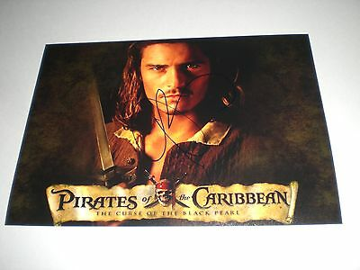 Orlando Bloom Fluch der Karibik signed signiert Autogramm  20x28 Foto in person