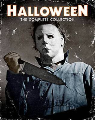 Halloween: The Complete Collection New Blu-Ray