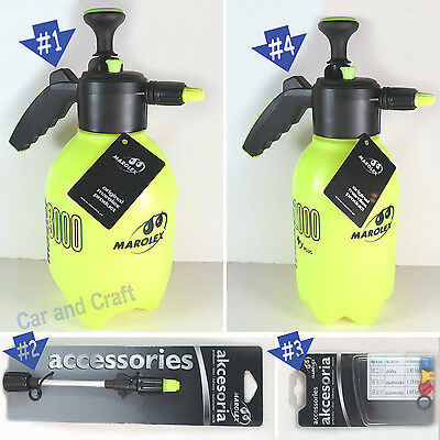 Marolex Sprayer Master 3000/2000+ Plus/Long Nozzle/Flat Stream Nozzles Car Wash
