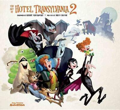 The Art of Hotel Transylvania 2 by Brett Rector (English) Hardcover Book