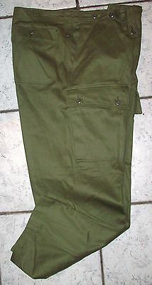 Jungle Pants Mint - Genuine Vietnam Australian Army Issue - 1960 & 1980's Dated