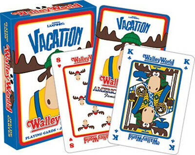National Lampoon's Vacation Movie Walley World Illustrated Playing Cards SEALED