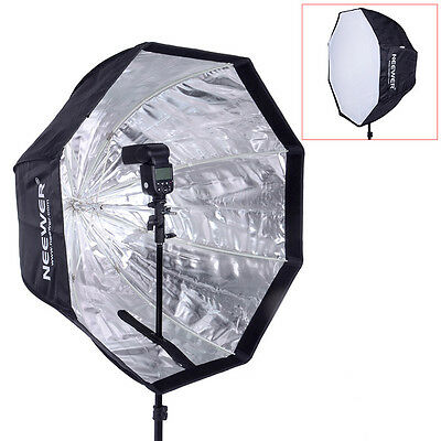 "Neewer 32""/80cm Speedlite Octagonal Umbrella Softbox for Portrait Photography"