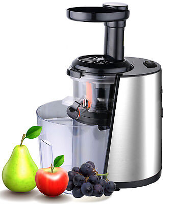 ViVo Pure Ultra Silent Slow Fruit Juicer Easy Clean High Yield Dual Stage