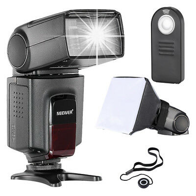 Neewer TT560 Flash Speedite *Kit Lussuoso* per Canon Nikon Panasonic Olympus