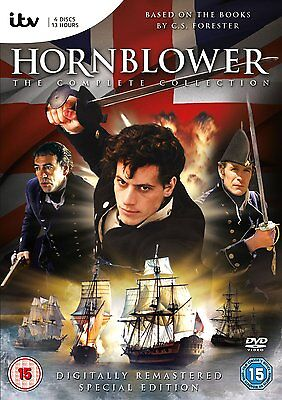 Hornblower - The Complete Collection DVD Box Set R4 New Sealed
