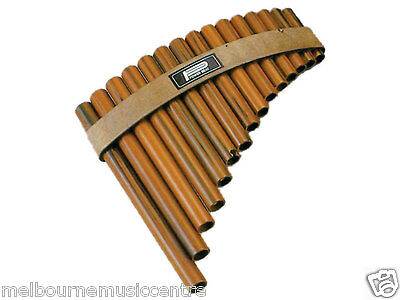 PAN FLUTE / PANPIPES 15 Hole Synthetic WoodLooking Pipes *Tunable Diatonic* NEW5