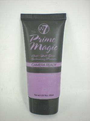 W7 prime magic camera ready face ANTI-DULL purple primer foundation base 30ml
