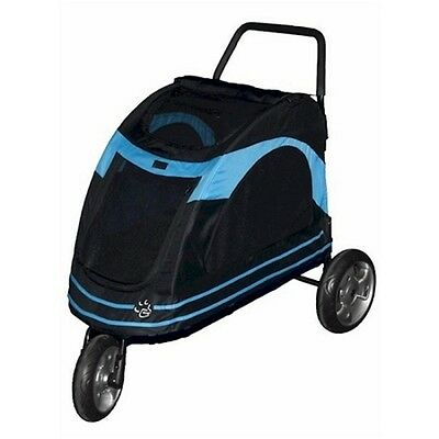 Pet Gear Roadster Pet Stoller-Blue PG8600BOB Pet Strollers NEW