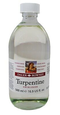 Daler Rowney Artists Oil Mediums Turpentine 500ml