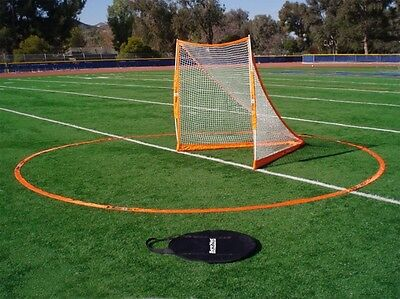 BowNet Portable Lacrosse Goal Crease with Bag Bow Net