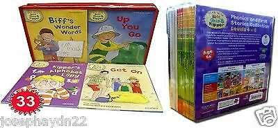 NEW SET of 58  OXFORD READING TREE PHONICS / STORIES  STAGE 1 2 3 4 5 6