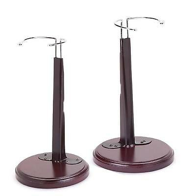 Set of 2 Expandable Doll Stands  Fit 18-20 Inch Doll Fits American Girl Dolls