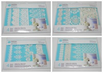 Martha Stewart Decoupage Lace Trim Pack  White Or Ivory You Choose Ornate Floral