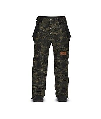 New 2016 Dakine Mens Belleville Insulated Snowboard Pants Large Camo