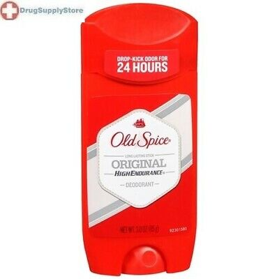 Old Spice High Endurance Invisible Solid Men's Deodorant Original 3 oz