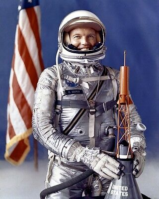 U.S. Astronaut L. Gordon Cooper Jr. Pressure Suit NASA 8x10 Photo