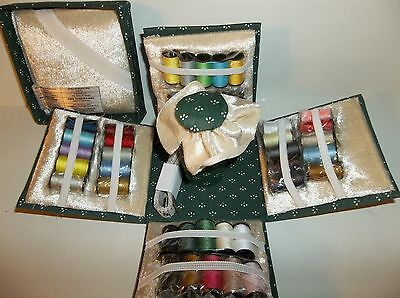Sewing Kit.Compact and Portable.Thread,Needles,Thimble,Measuring Tape,Scissors