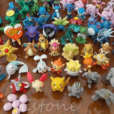 24PCS Wholesale Lots Cute Pokemon Mini Random Pearl Figures New Hot Kids Toy Hot