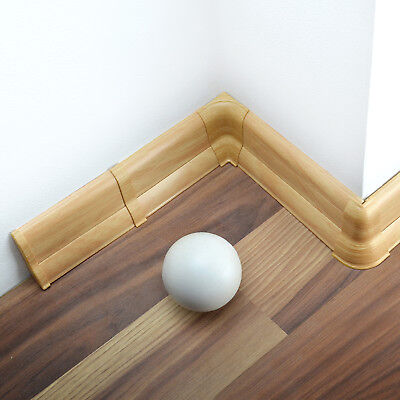 52mm/62mm PVC PEAR 2.5m SKIRTING BOARD & ACCESSORIES home trunking floor wall