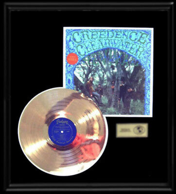 Creedence Clearwater Revival Self Titled Debut First Gold Record Disc Rare  Lp