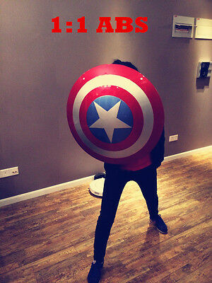 1:1 The Movie Color Avengers Captain America ABS Shield For Cosplay New Brand