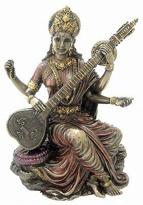 Sarasvati Saraswati Statue Hindu Goddess of Learning Education ...