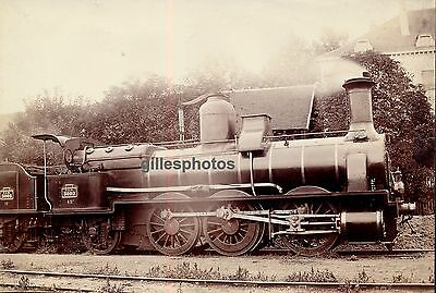 Locomotive PLM 3002 c. 1880-90 -  Train - 37