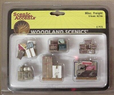 O scale FREIGHT ITEMS Woodland Scenics Misc Train Items  # 2766