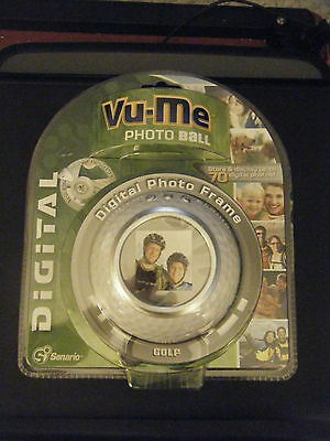 Senario Vu-Me Digital Photo Frame Photo Golf Ball #23261 - Brand New!!!!