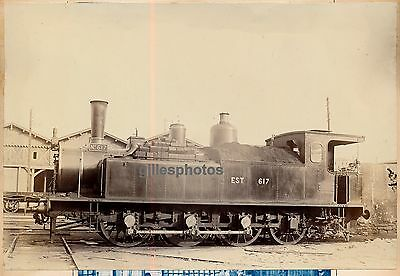 Locomotive EST N° 617 c. 1880-90 - Ateliers d'Epernay Train - 39