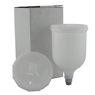Replacement/Spare Cup & Lid for Devilbiss SLG-620 & SLG-610 Paint Air Spray Guns