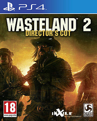 Wasteland 2: Directors Cut Ps4 Brand New Sealed Uk Official