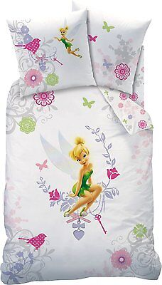 biber kinder bettw sche 135 200 80 80 fairies tinkerbell neu ovp flanell tink eur 29 90. Black Bedroom Furniture Sets. Home Design Ideas