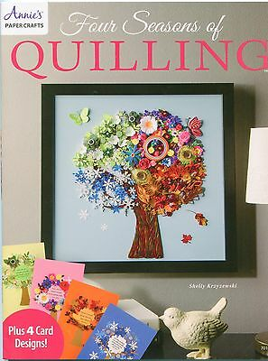 FOUR SEASONS of QUILLING Paper Art Filigree Introductory Offer Soft Cover New