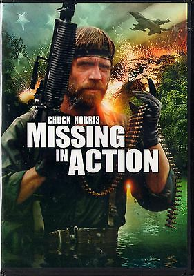 Missing in Action (DVD, 2000) Chuck Norris  BRAND NEW