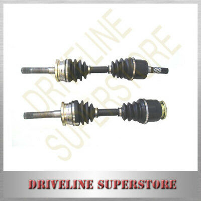 Two Front Cv Joint Drive Shafts For Ford Courier 4Wd 2.5L 2.6L 1988-2002