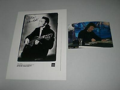 Steve Hackett Genesis signed signiert autograph Autogramm 20x28 Foto in person