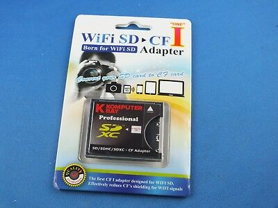Compact Flash Adapter SD SDHC auf to CF bis 64 Gb Extreme 4TH Generation UDMA