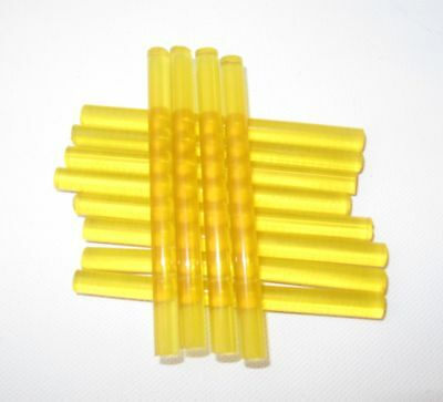 Hair Extensions x12 Fusion Keratin Glue sticks Yellow