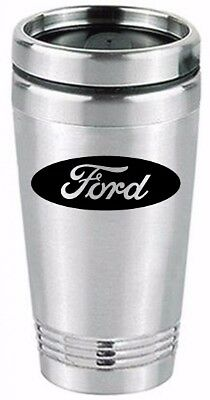 ford tough tumbler travel cup coffee drink stainless steel mug beverage