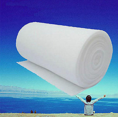 1m*1m 3 5 10 15 20mm Air Conditioner Dust Particle Filter Non Woven Fabric G3 G4
