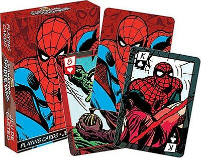 Marvel Spiderman set of 52 playing cards (nm 52283)