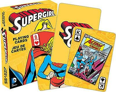 Supergirl DC Comics set of 52 playing cards (nm 52355)