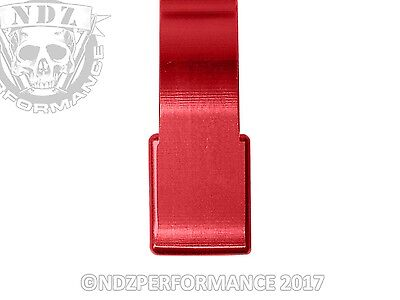 for Ruger 10/22 SR-22 .22 Rifle Custom Extended Magazine Release Plain RED