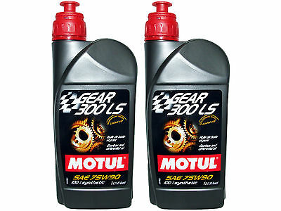 (2L=2.11 Qt) Motul Gear 300 Ls 75W90 100% Synthetic Transmission Lsd Oil
