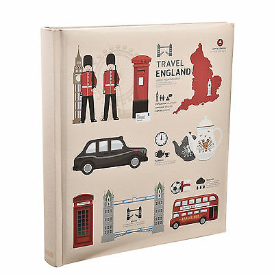Arpan London Icons Design Slip In Case Memo Photo Album 5x7'' 120 Photos AL-9148