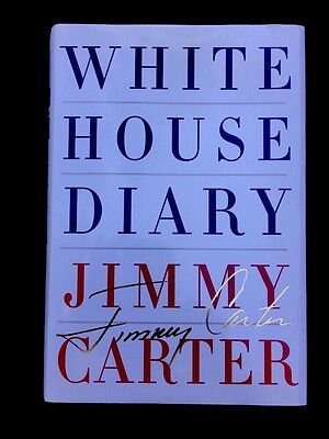 President Jimmy Carter White House Diary Memoir Biography Signed Autograph