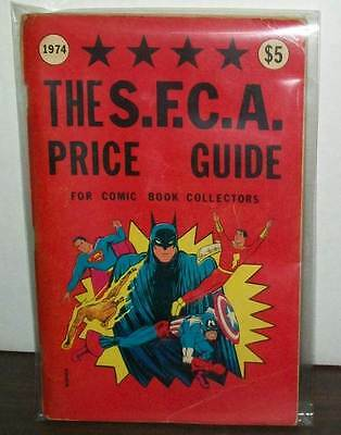 THE S.F.C.A. PRICE GUIDE FOR COMIC BOOK COLLECTORS 1974 VERY GOOD  #ssep15-360